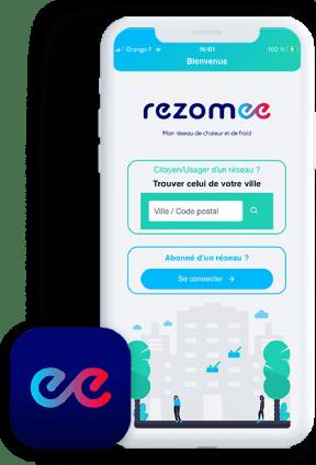Apercu application Rezomee